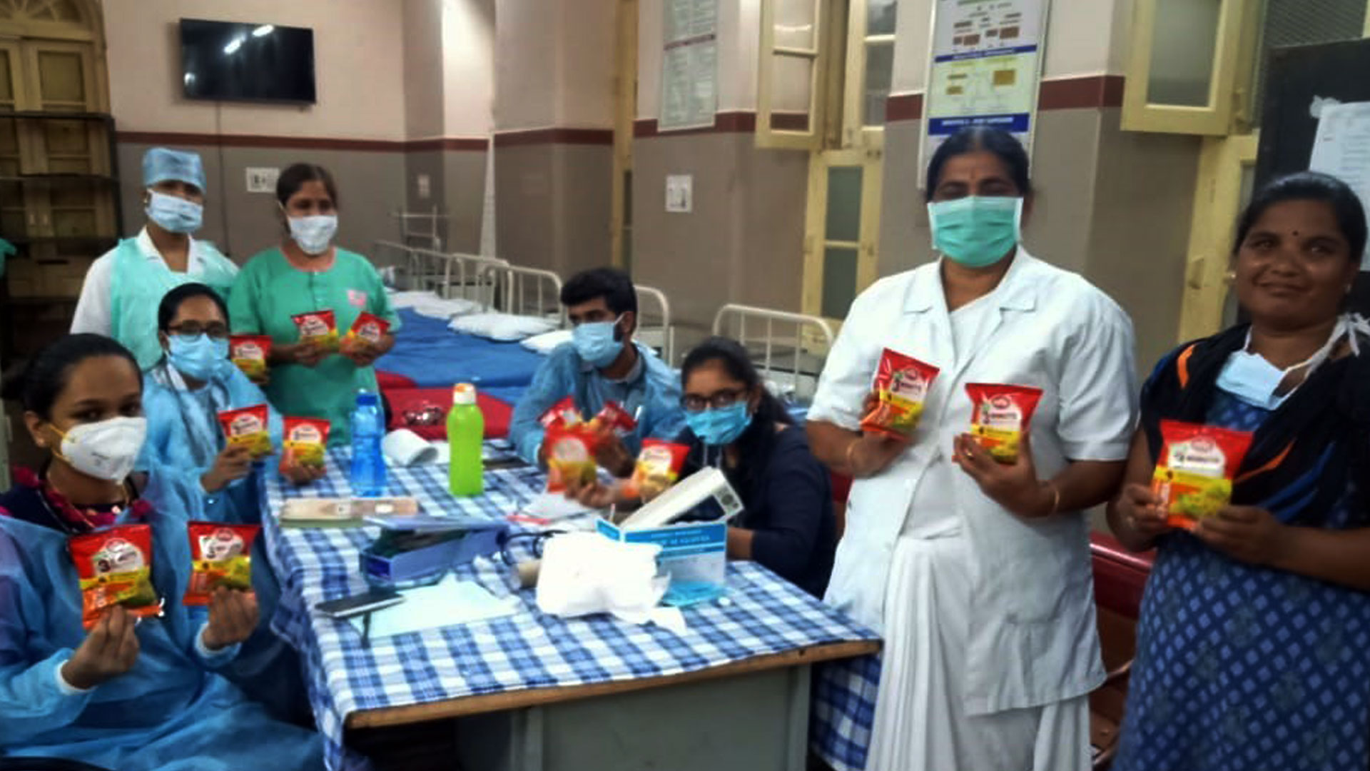 MTR FOODS EXTENDS SUPPORT TO HEALTHCARE PROFESSIONALS.